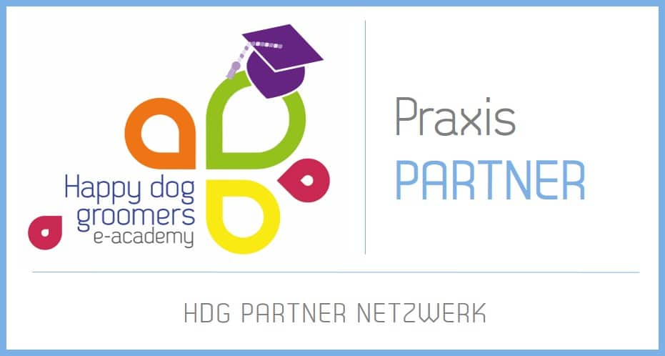 Logo Praxis Partner Happy Dog Groomers e-Academy